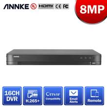 ANNKE 16CH 4K grabadora de Video Digital para Unfailing récord de 24/7 5IN1 H.265 + DVR para 5MP 6MP 8MP CCTV cámaras de seguridad, cámaras IP