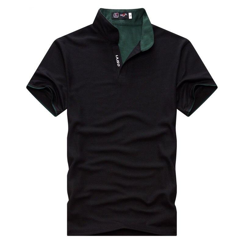 2019 Plus Size 3XL Men  Fashion Brand Solid Color  Summer Men Casual Short Sleeve Slim