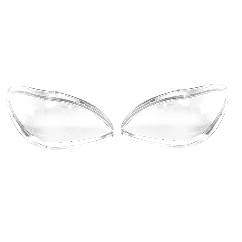 Car Headlight Lens Glass Lampshade Fog Lamp Cover Headlight Cover For Mercedes <font><b>Benz</b></font> <font><b>W220</b></font> S600 <font><b>S500</b></font> S320 S350 S280 1998~2001 2002 image