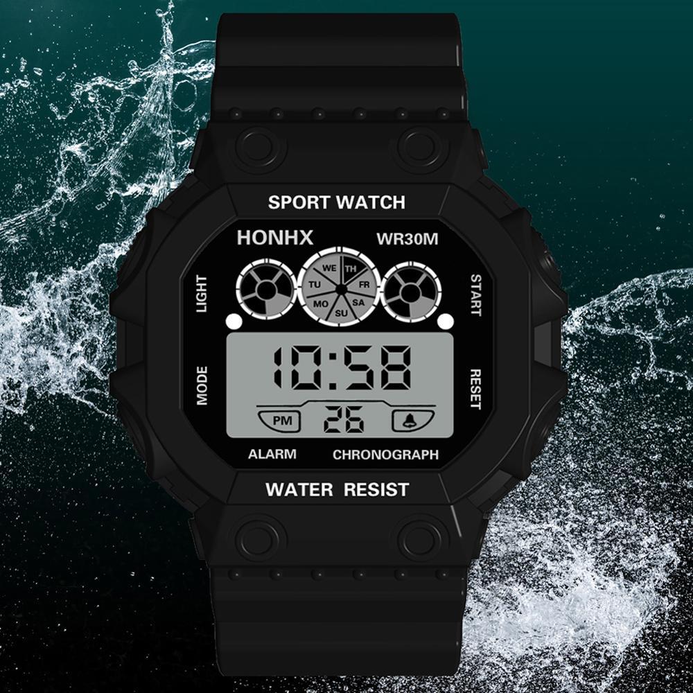 Digital Watches Clocks Sports-Wristwatch Masculino Men Men's Relogio Casual Male Famous