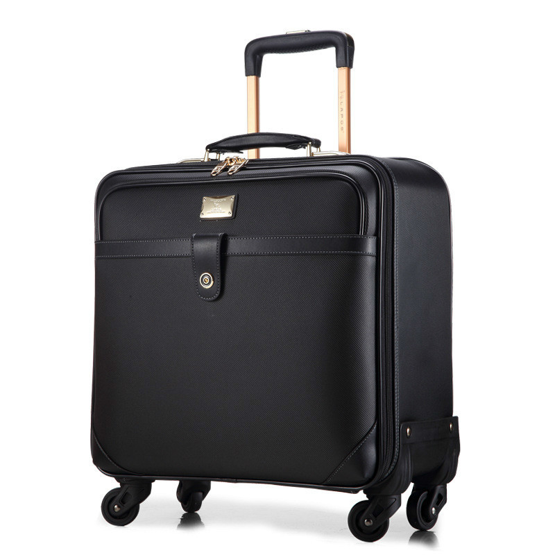 New Business PC Rolling Luggage Casters 16-24 Inch Men Multifunction Carry On Wheels Suitcase Trolley Bag Vs Travel Bag Trunk