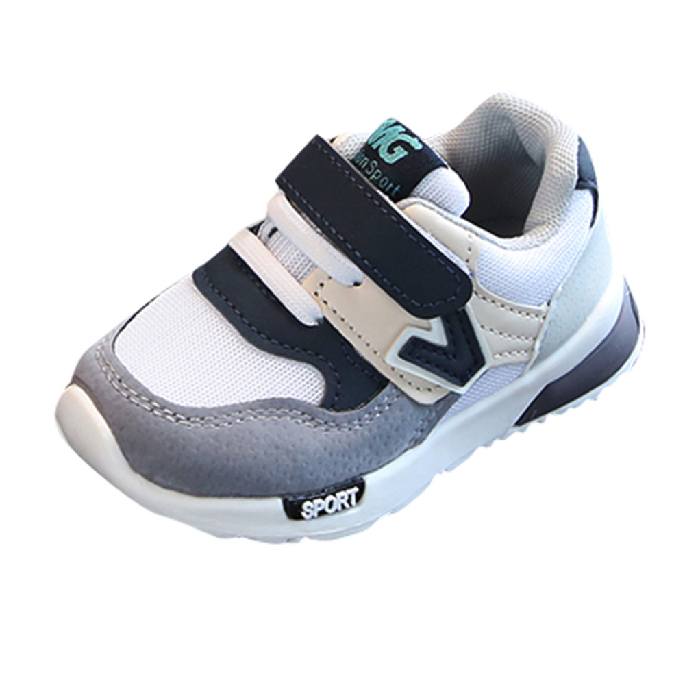 Casual Kids Boys Girls Mesh Soft Running Sneakers Children Letter Fashion Outdoors Shoes Baby Sneakers Snikers For Kids 2020