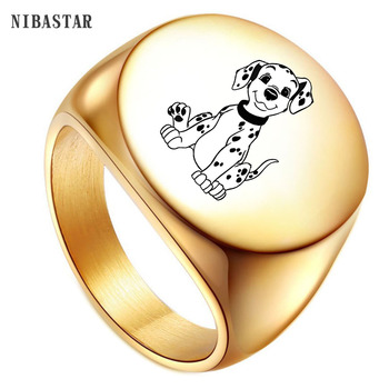316L Stainless Steel Men Ring 22mm Gold & Silver Plated Rings Engrave customize Constellation  Name Jewelry  or Women Men