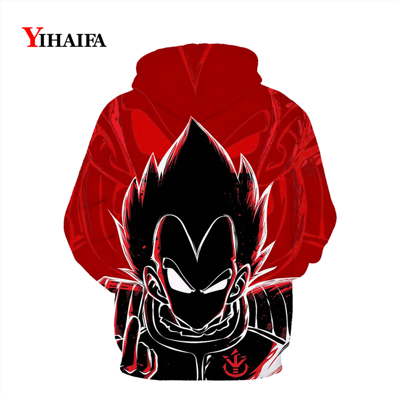 Newest Dragon Ball Z 3D Sweatshirt Mens Womens Hoodies Vegeta Graphic Print Cartoons Pullover Tracksuit Pocket Casual Tops in Hoodies amp Sweatshirts from Men 39 s Clothing