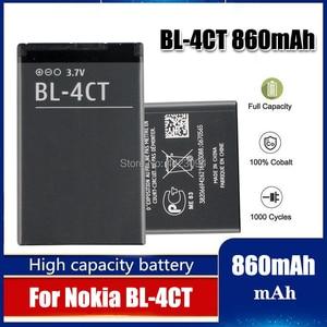 860 мАч батарея BL-4CT BL4CT BL 4CT для Nokia 5310 6700S X3 X3-00 7230 7310C 5630 2720 2720A 7210C 6600F батарея