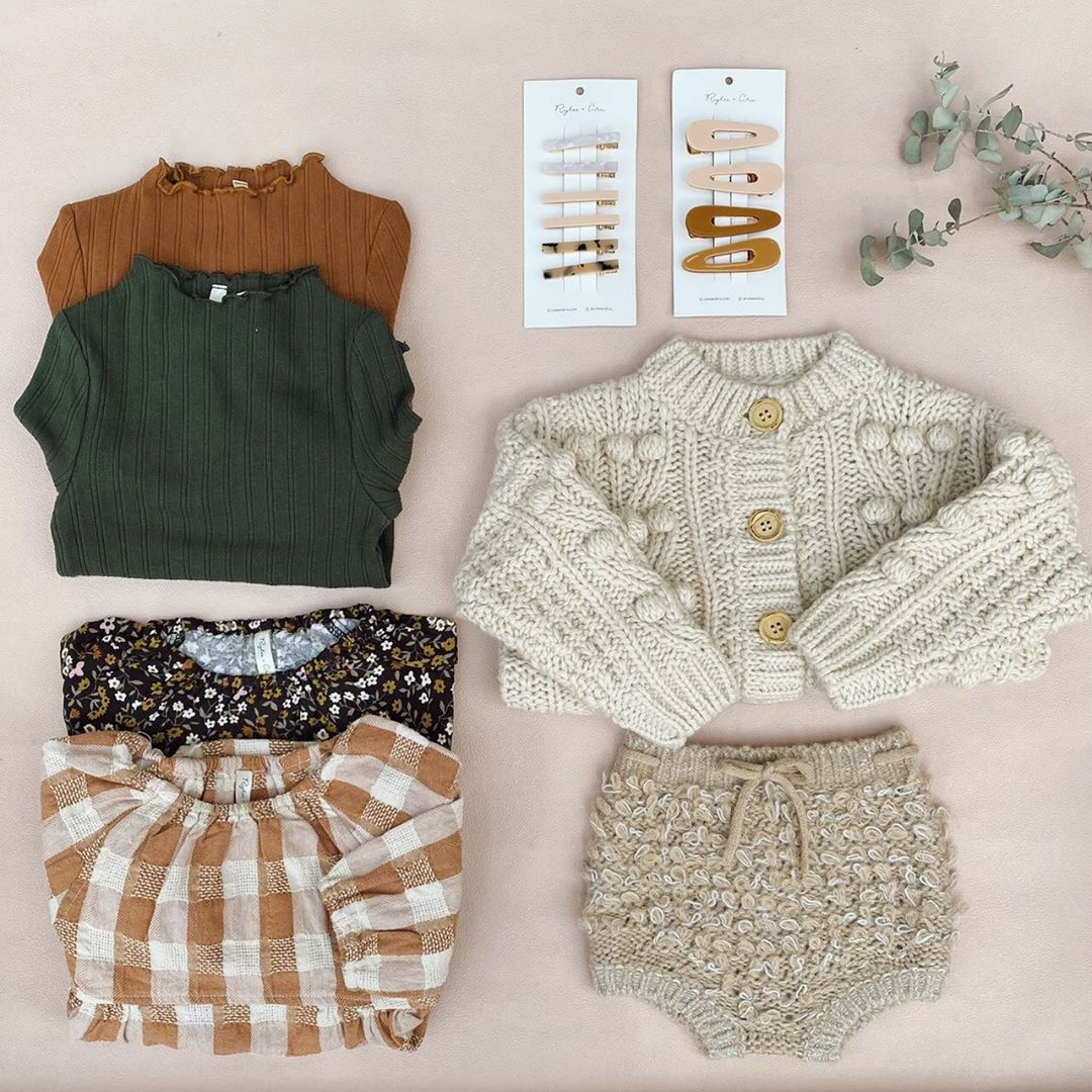Kids Wool Sweaters 2020 RC Brand New Autumn Winter Boys Girls Fashion Knit Cardigan Baby Children Cotton Outwear Tops Clothes 6