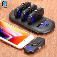 4 шт. магнитный мини-Банк питания Micro type C зарядное устройство Портативный внешний аккумулятор зарядное устройство смартфон для samsung iPhone