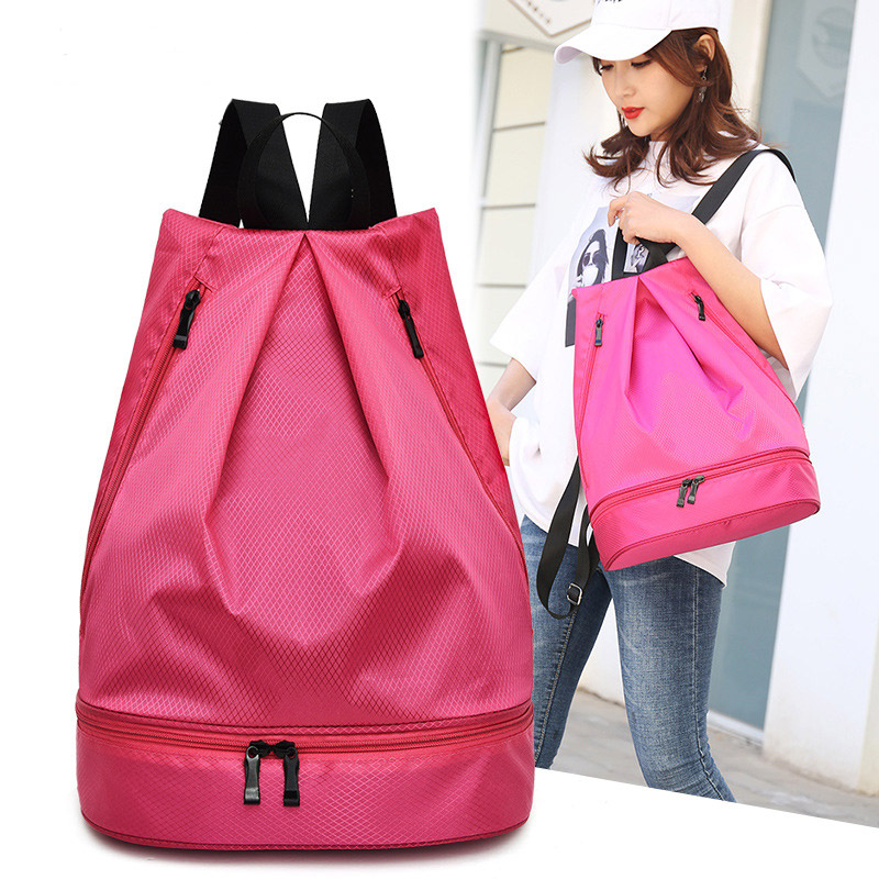 Waterproof Oxford Women Backpack Fashion Nylon Light Backpacks High Quality Large Capacity Travel Backpack Solid School Bag