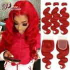 Pinshair Red Body Wa...