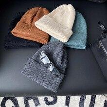 Knitted Hat Wool-Hat Autumn Korean Winter Children's And Orange Thin
