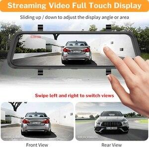 Image 3 - Deelife مرآة مسجل دي في أر داش كام 10 كامل الشاشة HD 1080P سيارة كاميرا مرآة الرؤية الخلفية مع الرؤية الخلفية مسجل الفيديو