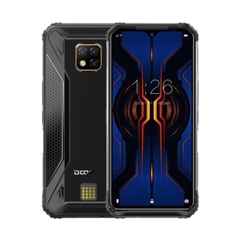 "DOOGEE S95 Pro IP68/IP69K Rugged Phone Android 9.0 Pie Helio P90 Octa-Core 8GB RAM 128GB ROM 6.3"" FHD+ Display 48MP Cams Wireles"