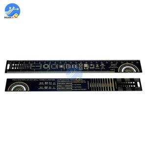 Image 5 - 4CM 15CM 20CM 25CM משולב PCB שליט מדידת כלי הנגד קבלים שבב IC SMD חבילה יחידות