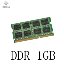 GZSM Laptop Memory DDR 1GB Memory Cards 266MHZ 330MHZ 400MHZ Memory RAM 200pins for PC2100 PC3200 PC2700 цена и фото