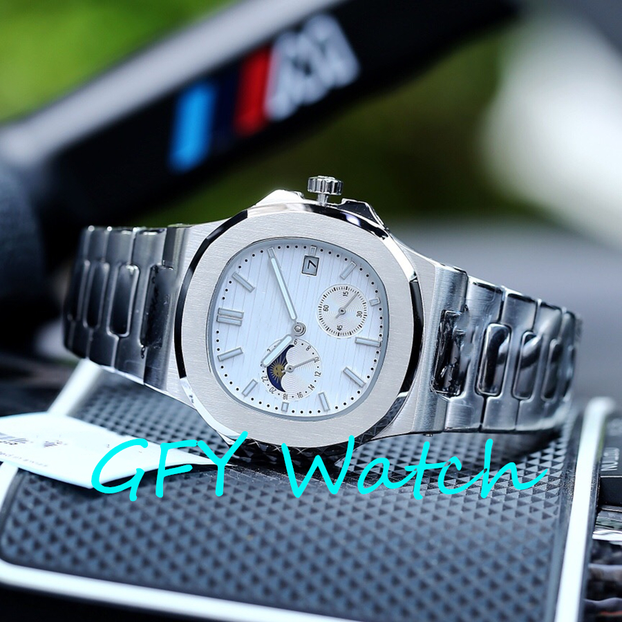 Men's Automatic Mechanical Watch 5711 / 1R SS 1: 1 Major Global Brand Stainless Steel Strap MIYOTA, 9015 Watch Movement