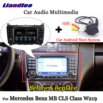 Liandlee Android 7.1 System For Mercedes Benz MB CLS Class W219 2005~2010 Radio TV Carplay Camera GPS Navi Navigation Multimedia