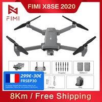 FIMI X8 SE 2020 RC Drone 3 Achsen Gimbal 8K Kamera Quadcopter RTF Hubschrauber HDR GPS FPV 33min flug Lade Batterie Schulter Tasche