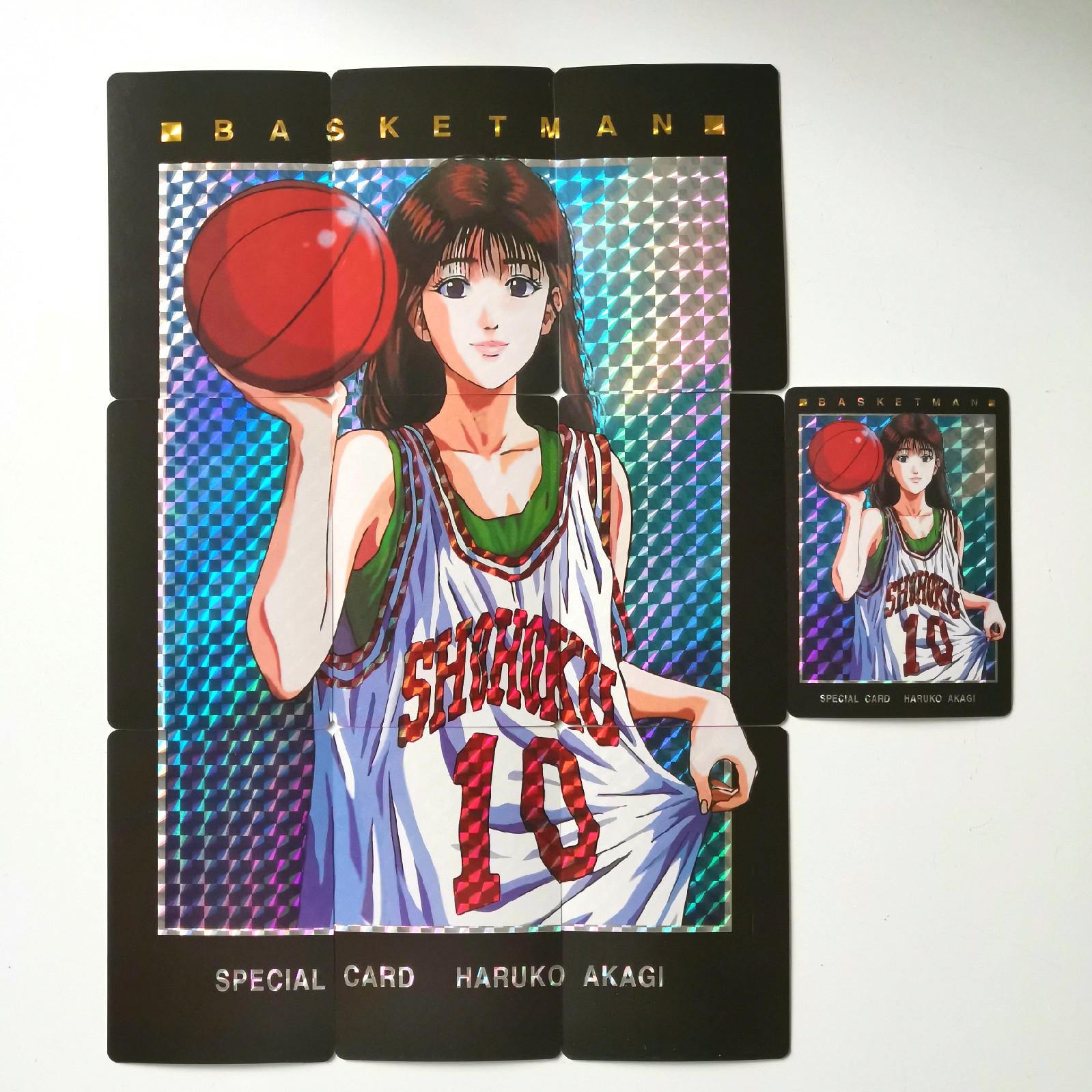SLAM DUNK 10pcs/set Akagi Haruko 9in1 Toys Hobbies Hobby Collectibles Game Collection Anime Cards
