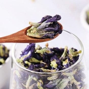 500g/1kg Tea Blue Butterfly Pea tea.Dried Clitoria kordofan pea flower.100% Pure Natural Can Edible Fruit Tea Free shiping 2