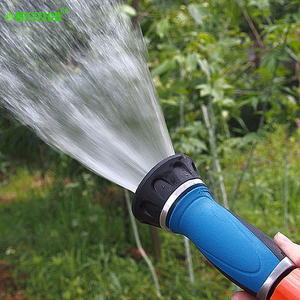 Large Flow Household Car Wash Water Spray Gun Portable Garden Watering High Pressure Nozzle Household Cleaning Tools
