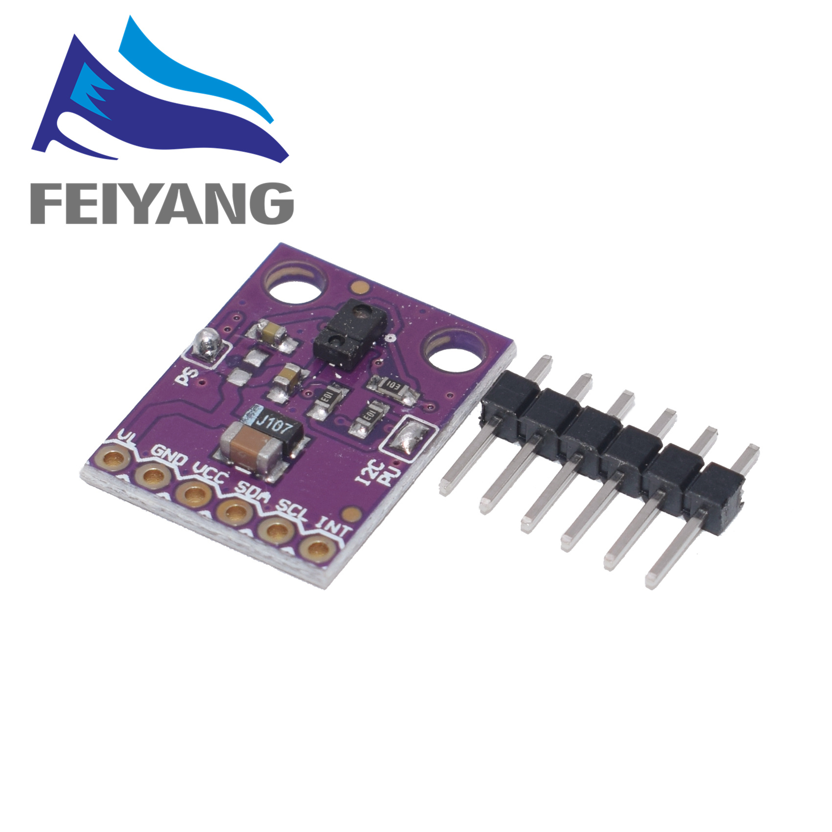 10pcs GY 9960 3.3 APDS 9960 proximity detection and non contact gesture detection RGB and Gesture-in Sensors from Electronic Components & Supplies