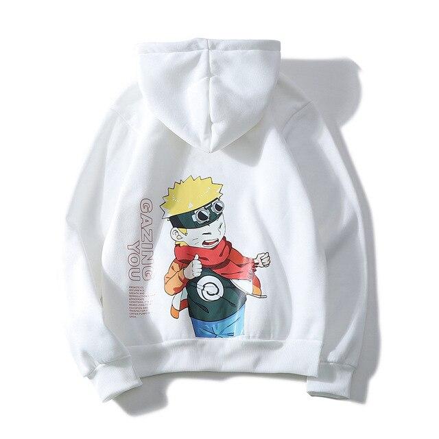 Harajuku Naruto Hinata Unisex Hoodies Couple wear Japanese Anime Printed Men s Hoodie Male Streetwear Fashion Casual Sweatshirts