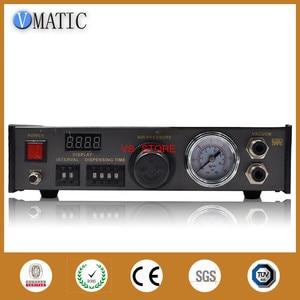 Image 1 - Il trasporto Libero 220V Auto Glue Dispenser Solder Paste Liquid Controller Dropper AB Macchina della Colla di Erogazione/Controller