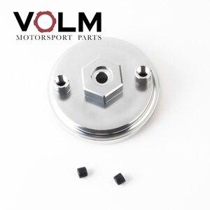 Image 3 - auto Aluminum oil filter adapter for oil pressure and oil temperature for bmw e46 e36 e34 car accessories cap03