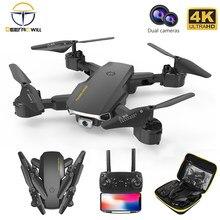 2021 nova rc mini zangão 4k hd grande angular câmera wifi fpv altura zangão manter segurar dobrável quadcopter drones câmera helicóptero brinquedos