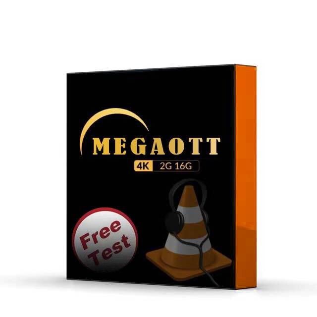 MEGAOTT UHD M3U MEGATV Works On PC IOS Android Smart TV Set Top Box Tablet PC