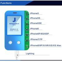 JC New  B1 for iPhone Battery Tester Repair for iPhone XS Max XS XR X 8P 8 6SP 6S 6P 6 5S SN Number Battery Life Capacity Reader