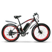 New XF660 26 Inch Fat Tire Electric Bicycle 7 Speeds Hydraulic Brake 48V 1000W 1