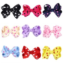 1 Piece Baby Children Bow Hair Clip Hairpins Accessories Supply Multicolor Baby Girls Newborn Headwear Barrettes(China)