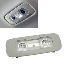 Lámpara de lectura trasera para coche, luz de techo gris para Golf 6 MK6 Passat Jetta CC 3AD 947 291