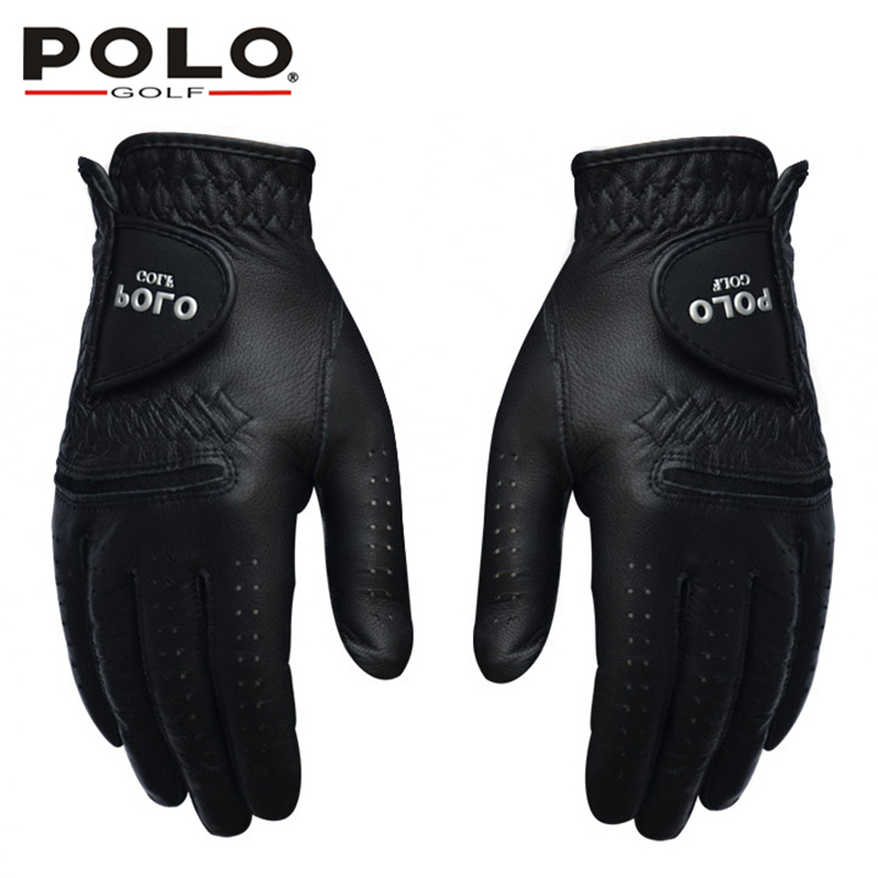 promo codes for whole family 100% high quality US $45.9 |POLO Golf Gloves Left and Right Hand Genuine Leather Men Glove  Suede Leather Antiskid Soft Breathable Sports Gloves Accessories-in Golf ...