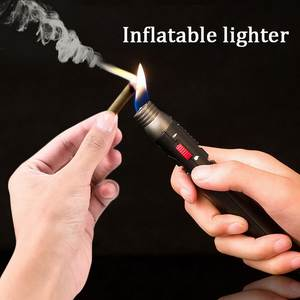Inflatable-Jet-Pen-Torch Flame-Lighter Soldering-Pen Butane Dual-Flame Degrees Fuel-Welding