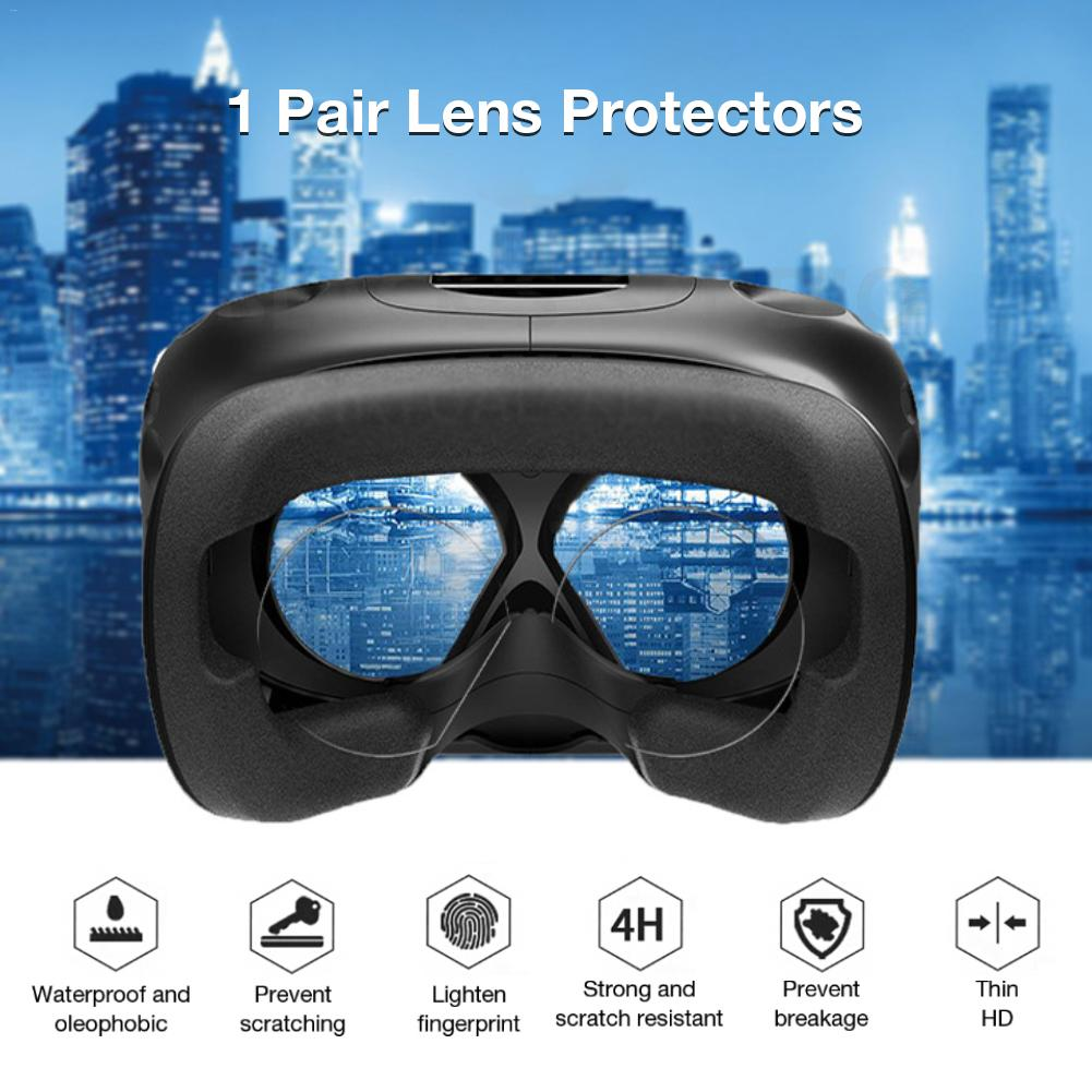 1 Pair Lens Protector HD Clear Film For Oculus Quest/Go/Rift Virtual Reality