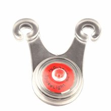 Bicycle cushion taillights night riding frog lights flashing small hanging lights silicone lights safety warning lights cheap CN(Origin) blue red green colorful (optional) 1 * CR2032 button battery fast flashing slow flashing steady light Bicycle cushion tail light