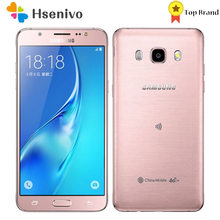 Восстановленный Оригинальный разблокированный телефон Samsung J5(2016) J510F, 5,2 дюйма, 2 Гб ОЗУ, 16 Гб ПЗУ, LTE, 4G, камера 13 МП, Восьмиядерный процессор