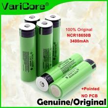 Nowy oryginalny 18650 3.7 v 3400 mah akumulator litowy NCR18650B ze spiczastym (bez PCB) do baterii latarki