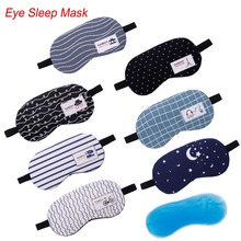 Mask Eye-Cover Sleeping-Aid Cotton Eyepatch Relax Shading Creative 1pc