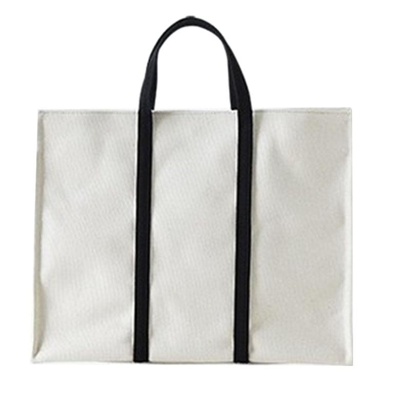 Bolsa de Embreagem Bolsala de Compras Asds-moda Casual Senhoras Bolsa Simples Lona Reutilizável