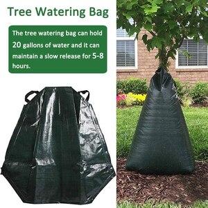 20 галлонов мешок для полива деревьев садовые растения Капельное орошение сумки медленное высвобождение висячая Сумка-капельница многораз...