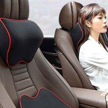 Cojín para reposacabezas de cuello de coche, soporte para la cabeza para Kia Rio 3 4 K2 K3 K5 K4 Cerato Soul Forte Sportage R SORENTO Mohave OPTIMA