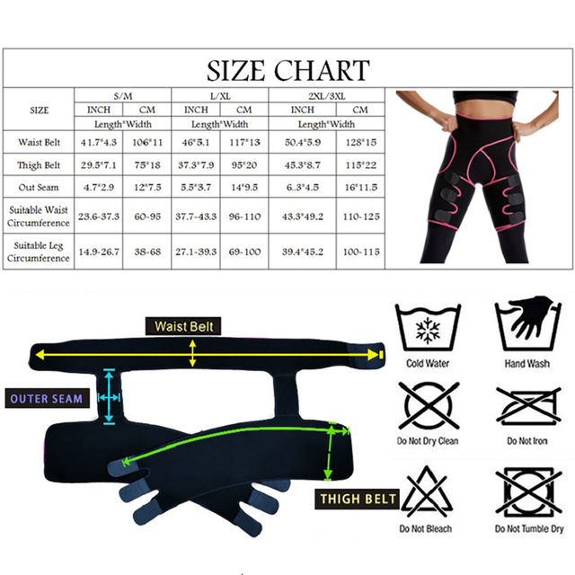 Woman And Man Unisex Trimmer Leg Shapers Slender Slimming Belt Neoprene Sweat Shapewear Muscles Band Thigh Slimmer Wrap 1