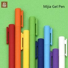 أحدث 8 قطعة/صندوق Youpin Kaco K1 هلام القلم مع الأسود 0.5 قلم محايد اللون ألوان ملونة الأسود الملء السلس الكتابة