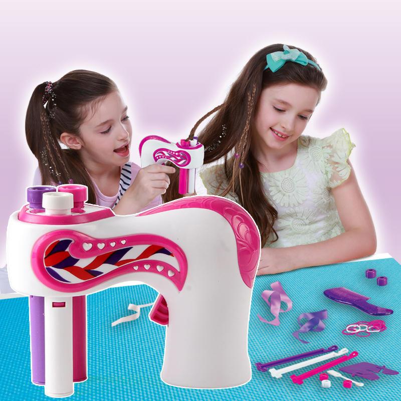 Hair-Braider Hair-Weave-Machine Hair-Styling-Tools Roll-Twisted-Braiding Electric Girl