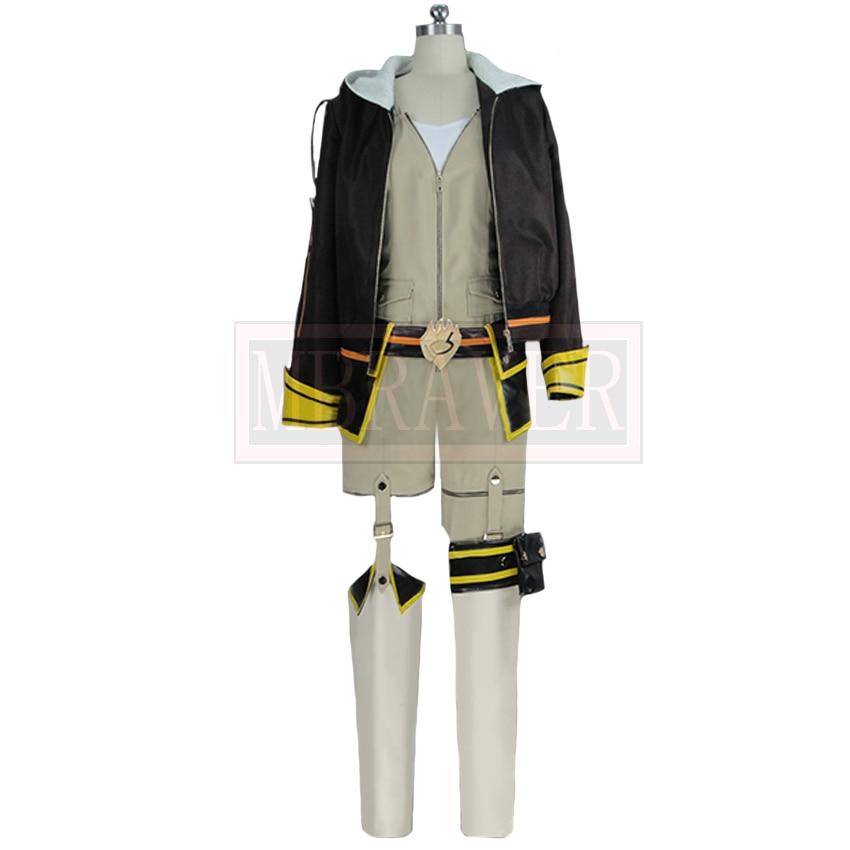 Rwby Yang Xiao Yellow Trailor Fight Season Uniform Cosplay Costume Custom Made