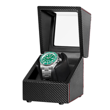 Automatic Watch Winder Silent Motor Carbon Fiber Watches Winding Storage Box Collection Holder Display