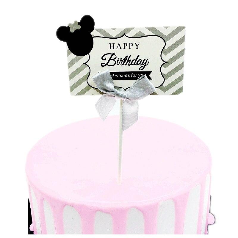 38 mm de ancho Brillo Globo Con Cable de cinta-Feliz cumpleaños Pastel party fiesta